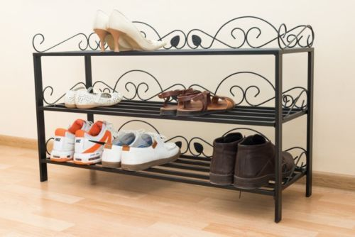 Really Practical Design Shoe Rack Metal Table Legs Shelves