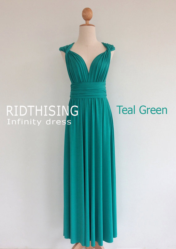 A stunning Convertible infinity wrap maxi dress, this is a versatile ...