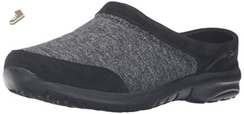 Skechers Women's Relaxed Living Tweedy Flat, Black Tweed, 10
