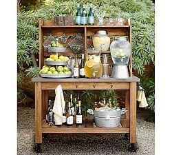 Outdoor Bars U0026 Buffet Tables | Pottery Barn