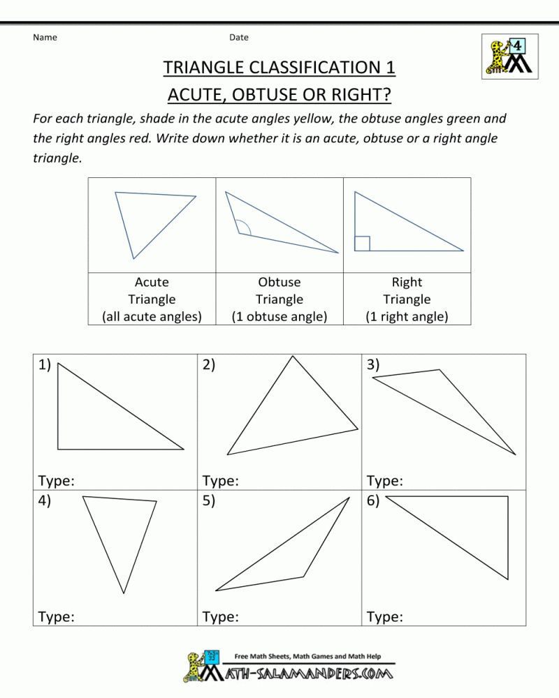 5th Grade Math Worksheets Geometry Printable Di 2020 Matematika