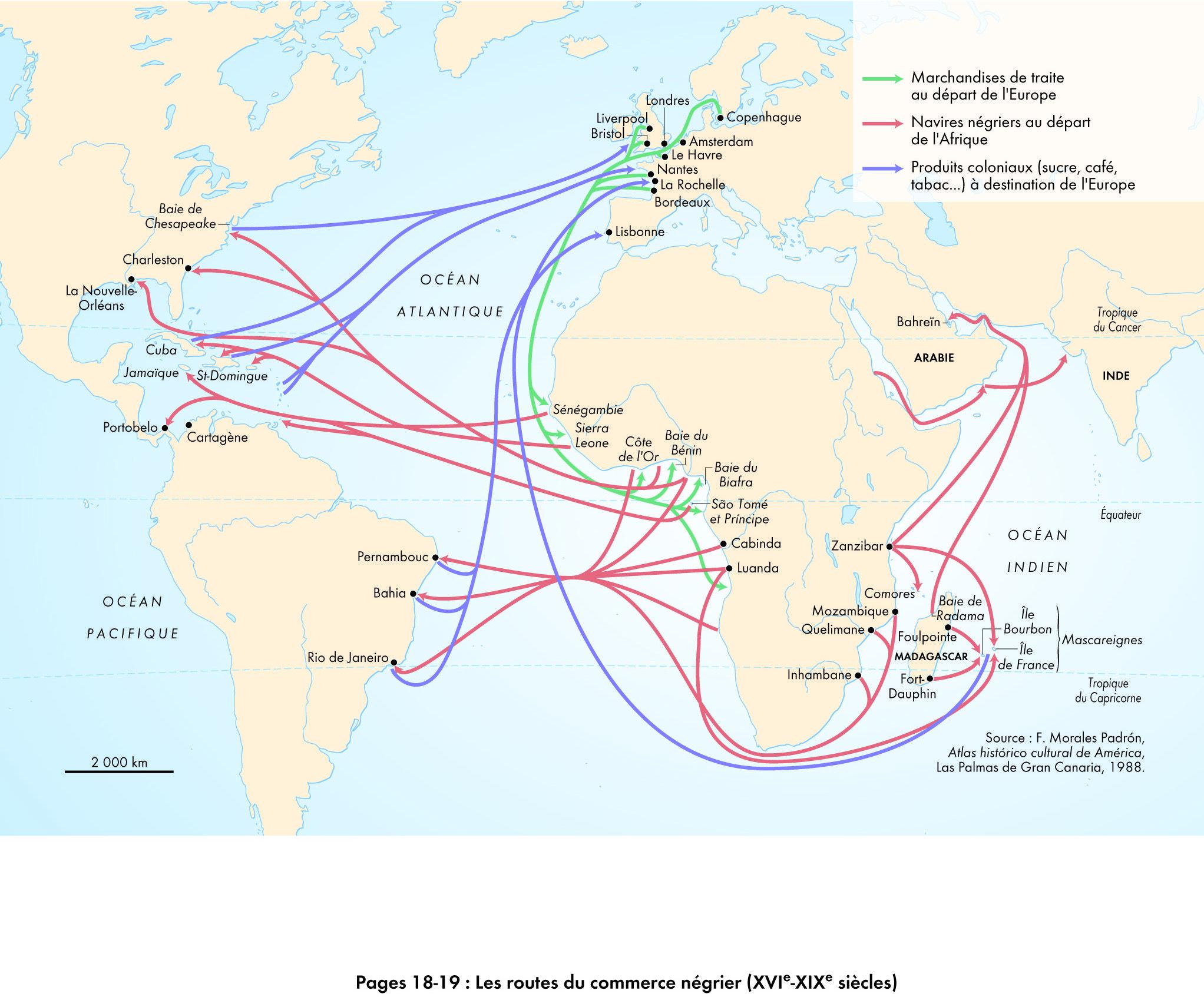 Les Routes Du Commerce Negrier
