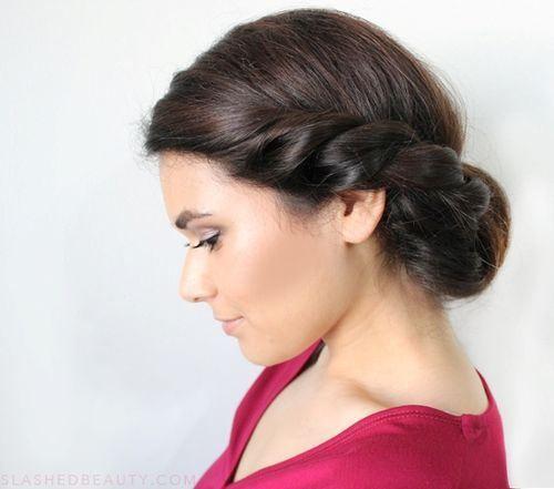 Swell 54 Trendiest Updos For Medium Length Hair Medium Length Hairs Short Hairstyles Gunalazisus
