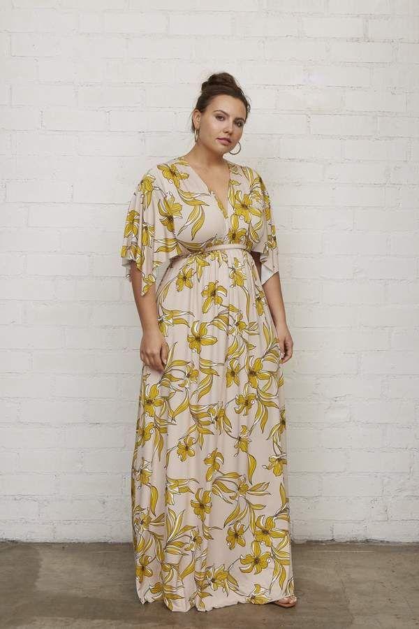 9740ba41f4c0f Long Caftan Dress - Striped Lily in 2019 | Products | Caftan dress ...
