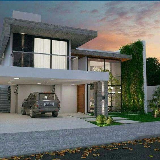 Modern Residential Exterior By Ar Sagar Morkhade: Pin By Brenda Van Zyl On Amazing Houses