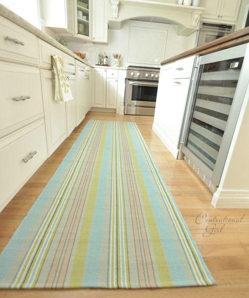 long kitchen rugs qvc.com shopping rug dash albert aquinnah cotton runner