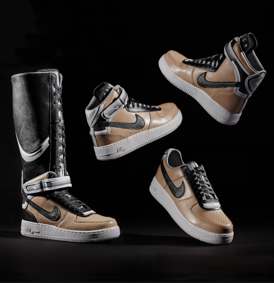 Nike Riccardo Tisci Air Force 1 Tan Sneaker Drop - Shoe Sale Shopping