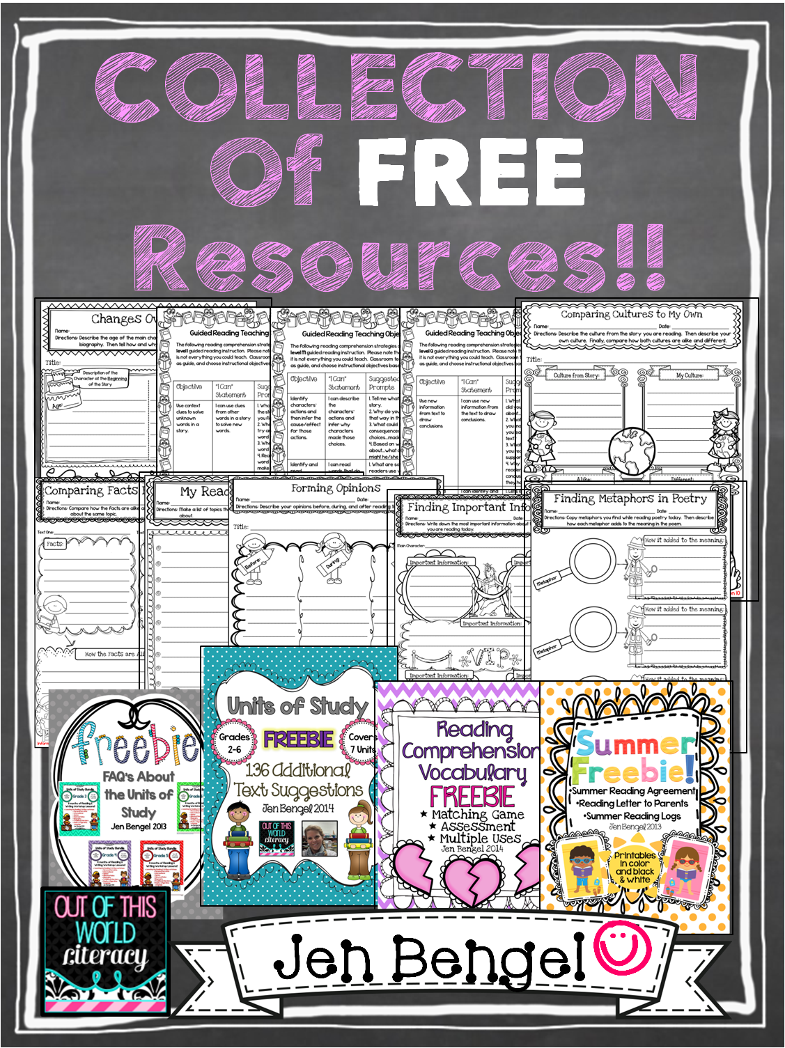 A Collection Of Over 20 Free Reading Writing Language And Spelling Resources For Grades 2 8