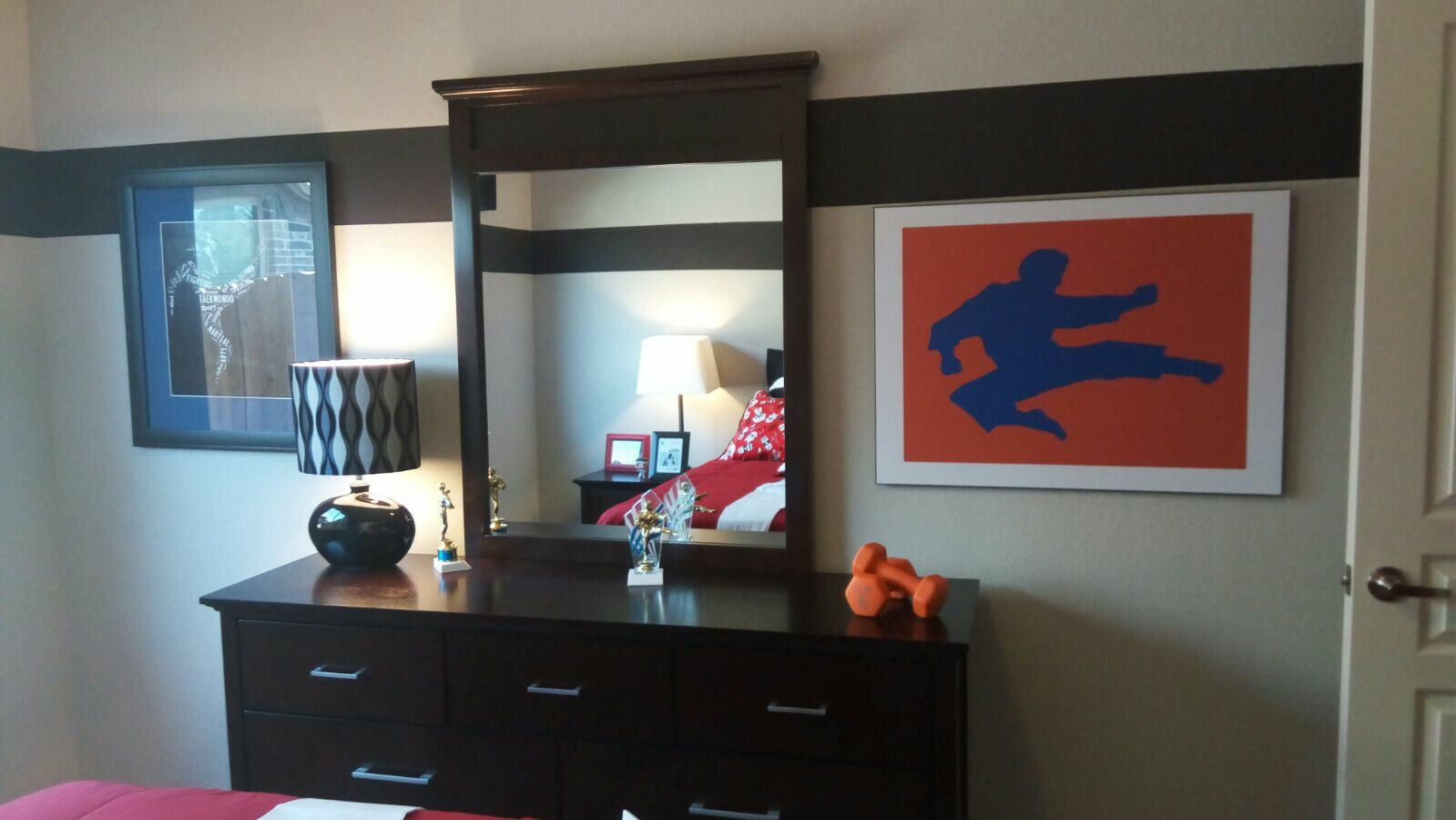 Martial Arts Bedroom Decor