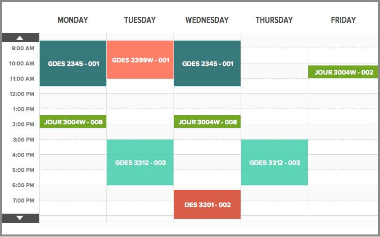 Schedule Graphic Design  Google Search  Ojt Schedule