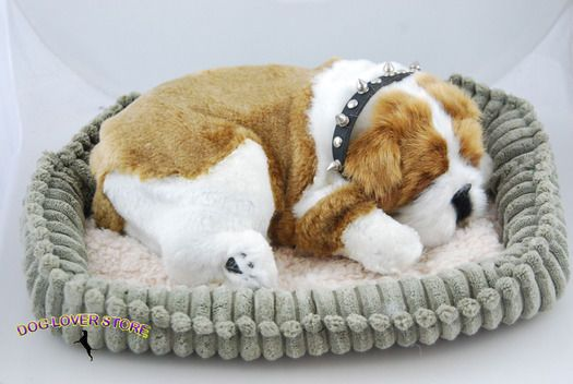 Bulldog Life Like Stuffed Animal Breathing Dog Perfect Petzzz