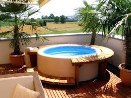 semi inground hot tub - Google Search #hottubdeck