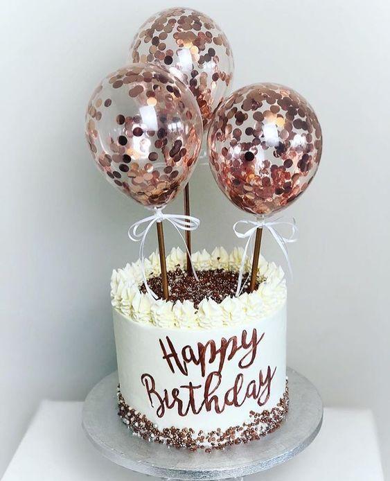 Geburtstagskuchen; Kuchen für Mädchen; Geburtstagstorte dekorieren; hausgemachte Kuchen; einfach ... - Leckeres Essen - #Geburtstag #Kuchen #Kuchen #Dekorieren #De