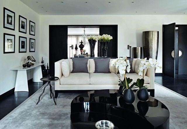 mel yates black and white living room dream casa decor