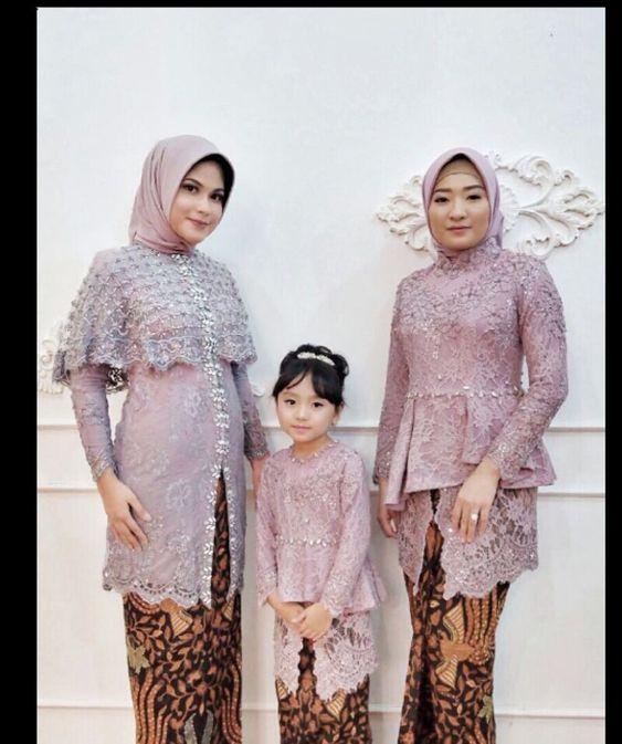Model Baju Kurung Brokat Terbaru 2019