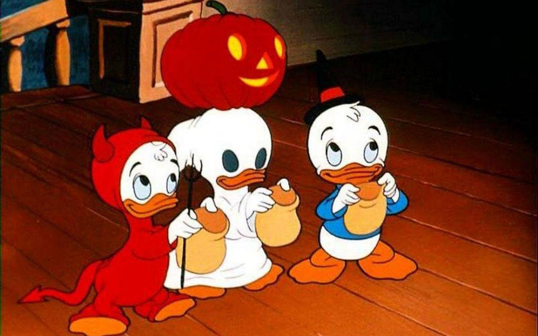 Funny Monsters Halloween Cartoons