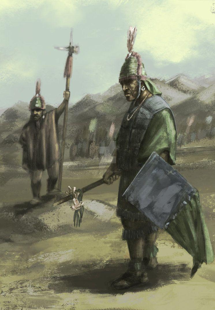 Soldados INCAS by FRANKABARCA | Inca art, Civilization history, Historical  art