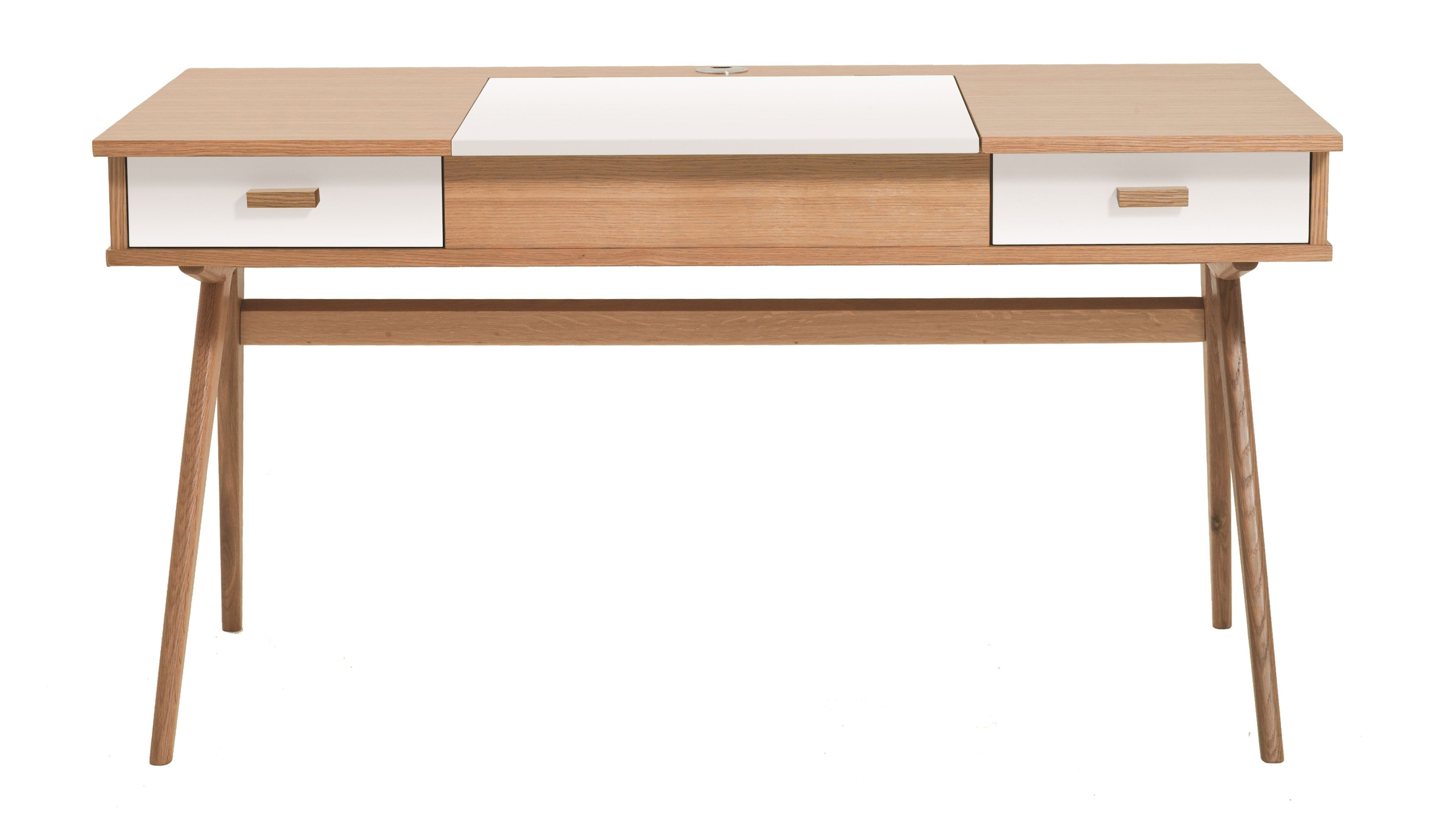 Bureau En Chene Massif Stroller Made 469 Desk Beautiful Desk Furniture