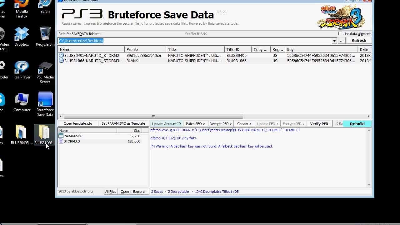 descargar ps3 bruteforce save data