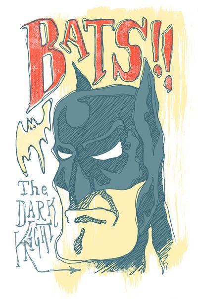 Batman - The Dark Knight Art Print