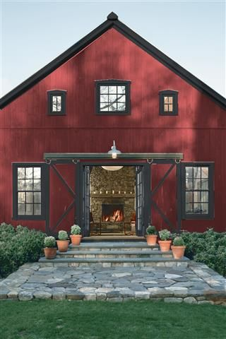 Saved Color Selections House Paint Exterior Red Houses Log Homes Exterior