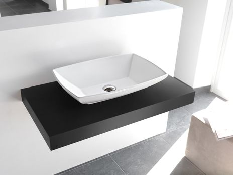 Art Ceram Jazz Countertop Basin Ferrara Contemporary Bathroom - Designer bathroom sinks singapore