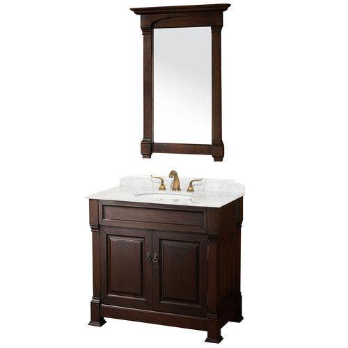 "Wyndham Collection Andover 36"" Bathroom Vanity Set & Reviews | Wayfair"