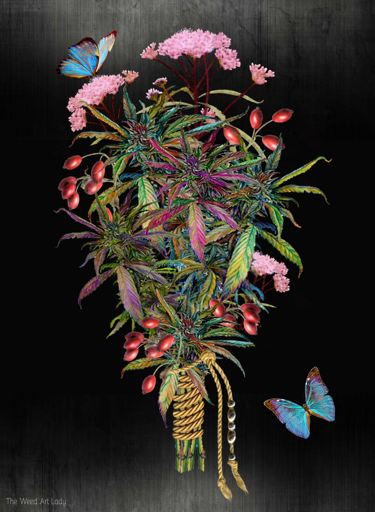 A Nice Bouquet of Flowers ♡ iNHALE MARY J. ♡ Stoner