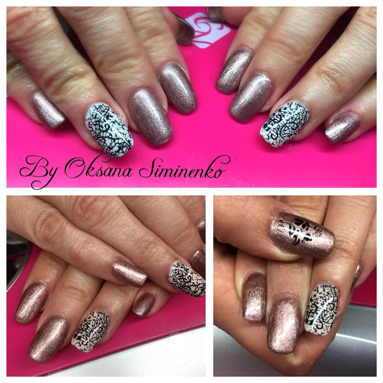 Gel Refill With Rose Mani Q Polish And Printing Plates