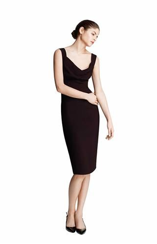 0471f6097518 Vestido tubo en color negro (© El Corte Inglés) | vestidos tipo tubo ...