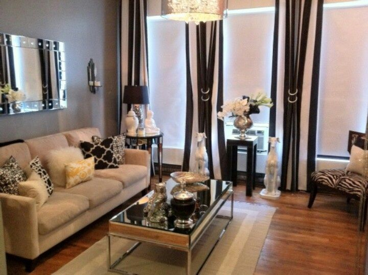 hollywood regency living room | Modernized Hollywood Regency ...