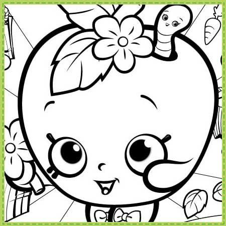 Dibujos para colorear - Shopkins Argentina | Shopkins | Pinterest ...