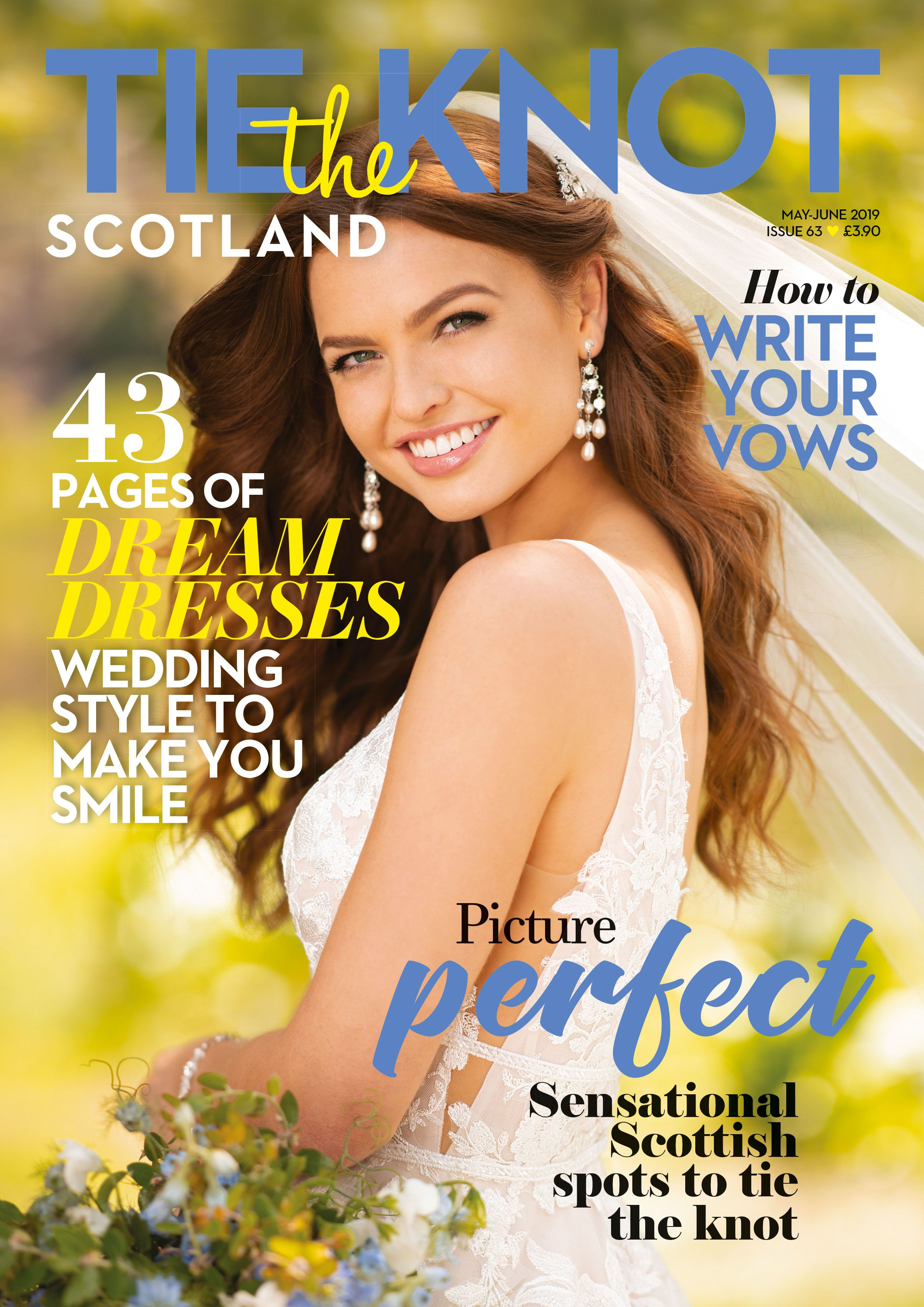 Issue 63 Tie the knots, Scotland, Wedding planning advice