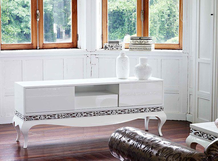 mueble vintage tv material madera de cerezo existe la posibilidad de realizar el mueble en