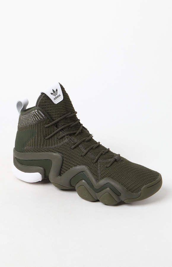 a0bd5cd638b2b3 adidas Crazy 8 ADV Primeknit Olive Green Shoes