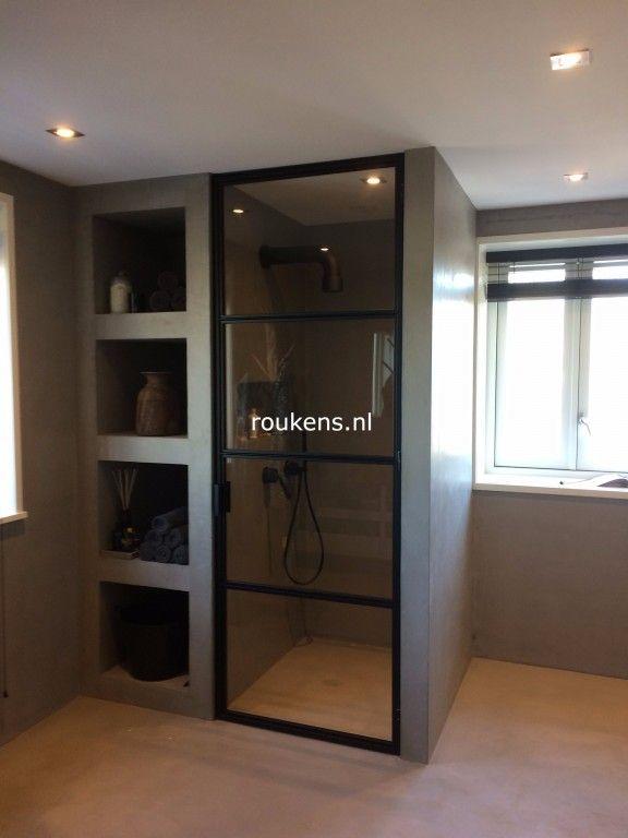 Stalen douchedeur Harderwijk op roukens.nl - Happy Home - Badkamer ...
