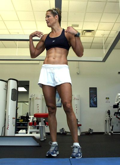 fe1f7b5275 I want Dara Torres  abs Abs Women