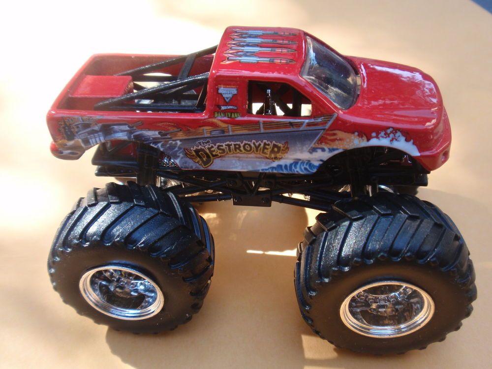 Details About Hot Wheels Monster Jam The Destroyer Loose 1 64