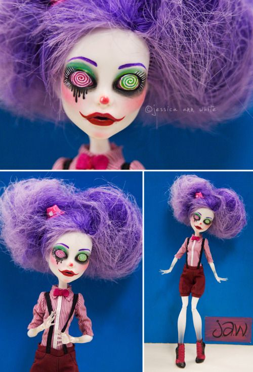 Pretty Monster High Customs (and also maybe some n : Photo