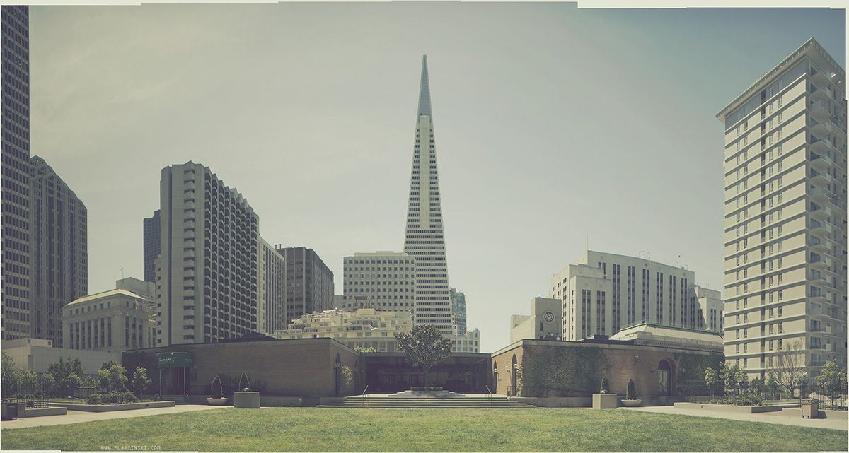 """UNTITLED PANORAMA 01. From """"The Venerable Landscape"""" series. San Francisco, CA 2011. ©Lucas Fladzinski ALL RIGHTS RESERVED. www.fladzinski.com"""
