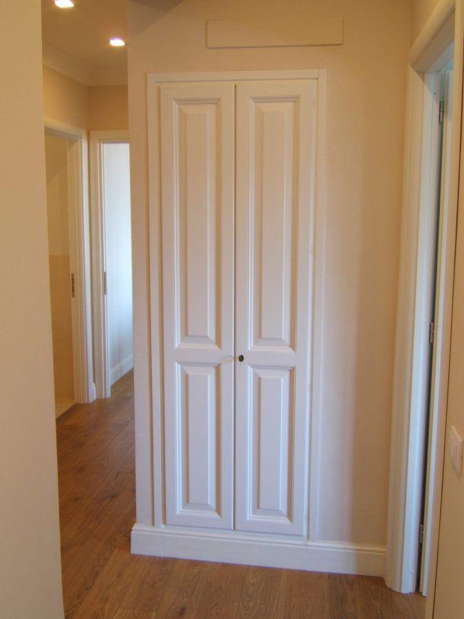 Cabine armadio su misura in legno per corridoio arredi su misura i nostri lavori pinterest - Cabine armadio in legno ...