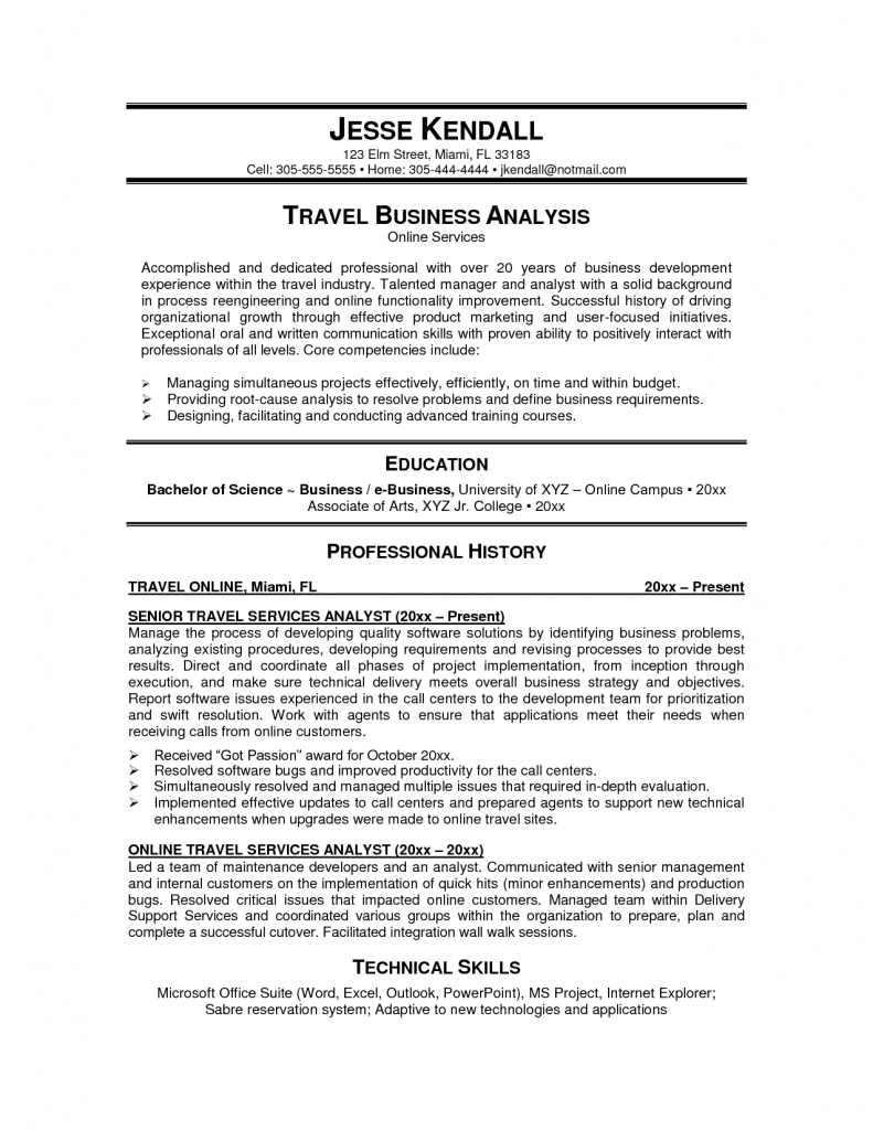 cruise agent sample resume invoice word template free travel example ...