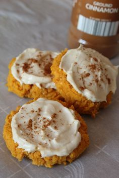 Softer than a regular sugar cookie my Keto Pumpkin Cookies with Maple Cream Cheese Frosting are even more delicious.  Softer than a regular sugar cookie my Keto Pumpkin Cookies with Maple Cream Cheese Frosting are even more delicious.
