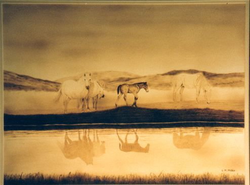 Pyrography by Susan M. Millis