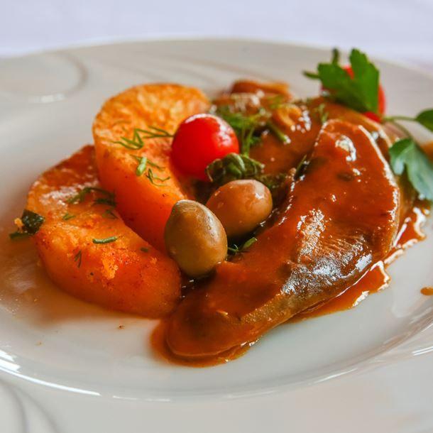 Langue de boeuf sauce piquante au Cookeo | Langue de boeuf ...