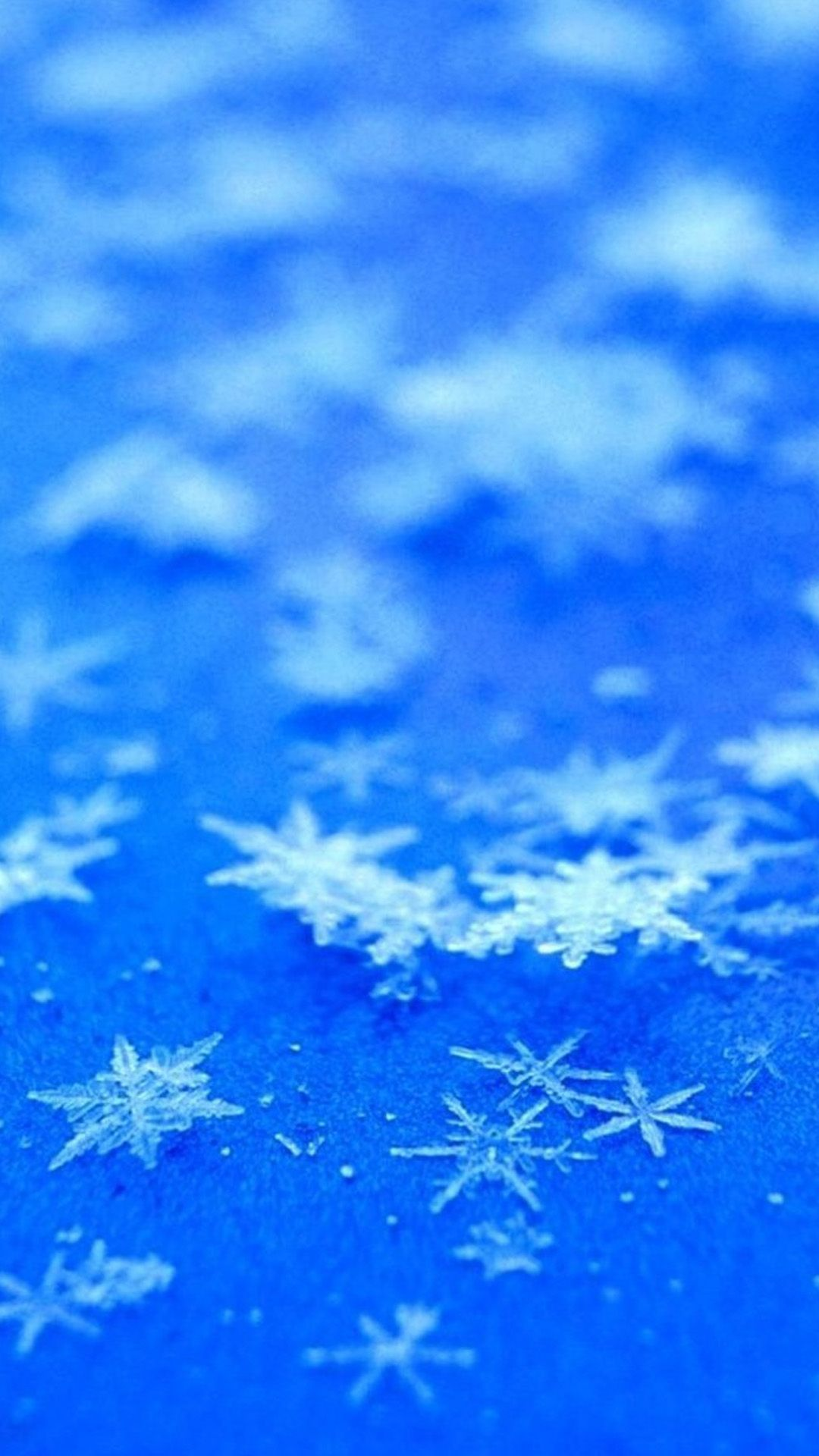 Abstract Icy Snowflake Background iPhone 6 wallpaper