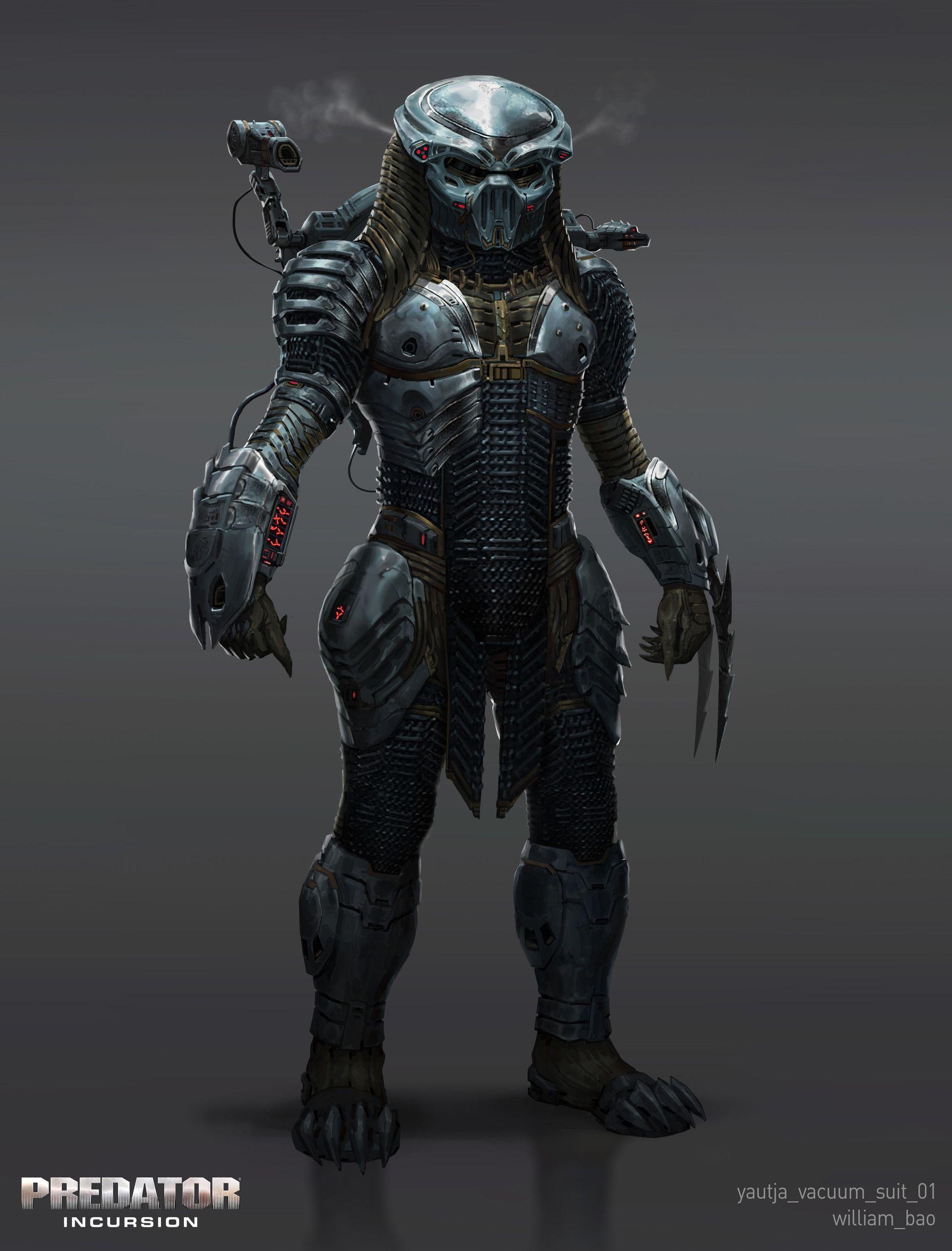 ArtStation - Predator: Incursion Vacuum Suit, William Bao | Awesome