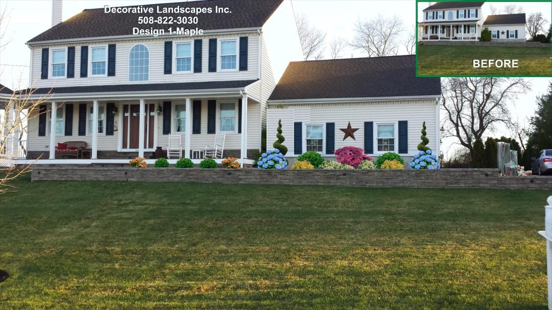 front yard curb appeal design