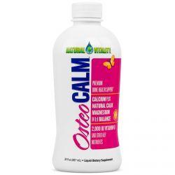 Natural Vitality, Osteo Calm, Premium Bone Health Support, 30 Fl Oz (887 Ml), Diet Suplements 蛇