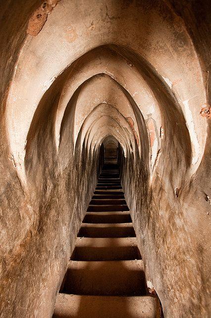 Interior passageway, Tayok Pye Temple - Bagan, Myanmar